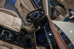 Shanghai Auto toont VW Phideon van 2017 Royalty-vrije Stock Foto