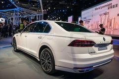 Shanghai Auto toont VW Phideon van 2017 Stock Afbeeldingen