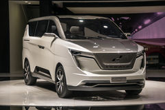 Shanghai Auto toont 2017 w-Motoren Iconiq 7 Stock Fotografie