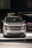 Shanghai Auto toont 2017 w-Motoren Iconiq 7 Stock Afbeeldingen