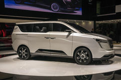 Shanghai-Automobilausstellung W 2017 fährt Iconiq 7 Stockbild