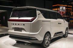 Shanghai-Automobilausstellung W 2017 fährt Iconiq 7 Stockfotografie