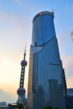 Shanghai Bank of China Tower Royalty Free Stock Images