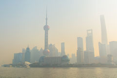 Shanghai a barreira Foto de Stock Royalty Free