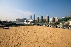 Shanghai Beach Royalty Free Stock Photography