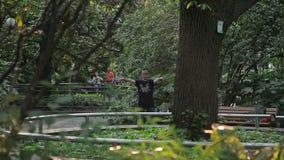 Shanghai Beschaafd Park stock videobeelden