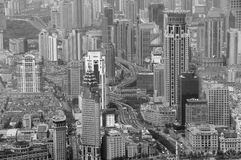 Shanghai in black and white Stock Photography