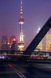 Shanghai Bridge Stock Photo