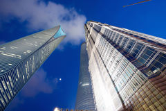 Shanghai Buildings Stock Image