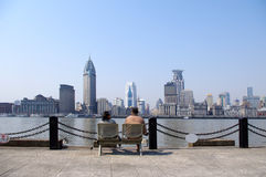 Shanghai Bund Stock Photography