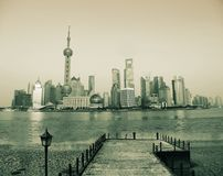 Shanghai Bund Royalty Free Stock Photography