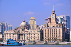 Shanghai Bund building view Stock Photography