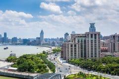 Shanghai bund in daytime Stock Image