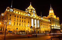 Shanghai Bund At Night Stock Photography