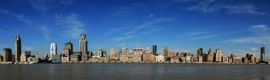 Shanghai The Bund - Panorama Royalty Free Stock Images