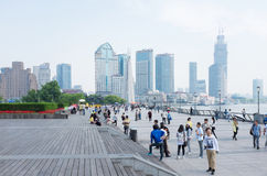 Shanghai, the Bund Royalty Free Stock Photos