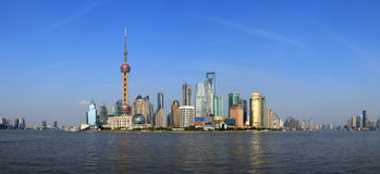 Shanghai Bund Scenery Royalty Free Stock Photo