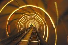 Shanghai Bund Tourist Tunnel Stock Image