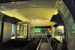 Shanghai Bund Tourist Tunnel Stock Photography