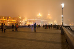 Shanghai - The Bund or Waitan Royalty Free Stock Images