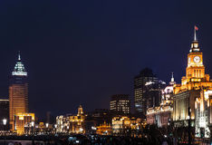 Shanghai bunden Arkivfoto