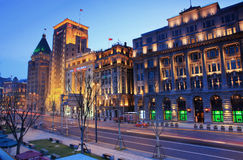 Shanghai bunden Royaltyfri Bild