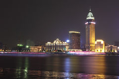 Shanghai Bundnatt Arkivfoton