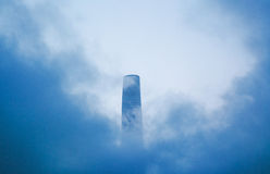 Shanghai Center Tower Royalty Free Stock Photography