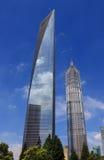 shanghai centrum finansowy świat Obrazy Royalty Free
