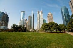 Shanghai Century Avenue Park Royalty Free Stock Photos