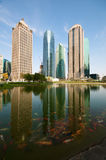 Shanghai Century Avenue Skyline Stock Image