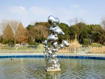 Shanghai Chen Shan Botanical Garden statue Stock Photos