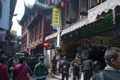 Shanghai Chenghuangmiao street Stock Photography