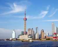 Shanghai, China. Skyline view of Shanghai, China Royalty Free Stock Photography