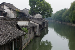 Shanghai China. China a beautiful scenery in Shanghai suburbs has a long history of cultural destination Stock Image