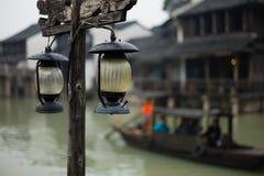 Shanghai China. China a beautiful scenery in Shanghai suburbs has a long history of cultural destination Stock Photos