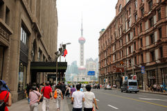 Shanghai China The Bund Stock Image