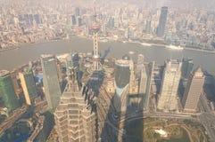 Shanghai China City View Stock Photo