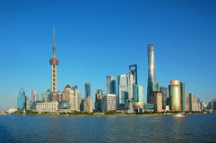 Shanghai China. Shanghai, the commercial and culture center of China. The most important city in the country royalty free stock images