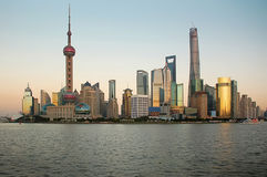 Shanghai China. Shanghai, the commercial and culture center of China. The most important city in the country royalty free stock image