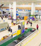 Pudong Airport baggage claim hall Royalty Free Stock Image