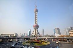Oriental Pearl Tower in Shanghai Stock Image