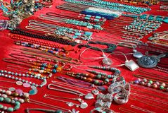 Shanghai China Jewelry Display Royalty Free Stock Photos