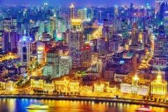 SHANGHAI, CHINA - MAY 23, 2015:Beautiful view of  Shanghai -  Bu Stock Images