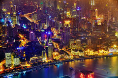 SHANGHAI, CHINA - MAY 23, 2015:Beautiful view of  Shanghai -  Bu Stock Photos