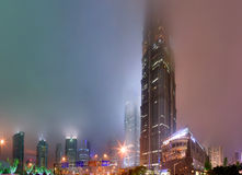 Shanghai, China, Pudong District, Jin Mao Tower Stock Images