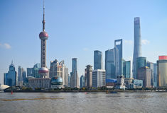 Shanghai China Skyline Royalty Free Stock Photos