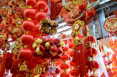 Chinese New Year in Shanghai Royalty Free Stock Images