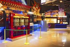 Shanghai, Cina, primo luglio, 2013: Commemorazione Exhitiion del Exp Immagini Stock