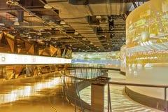 Shanghai, Cina, primo luglio, 2013: Commemorazione Exhitiion del Exp Immagine Stock